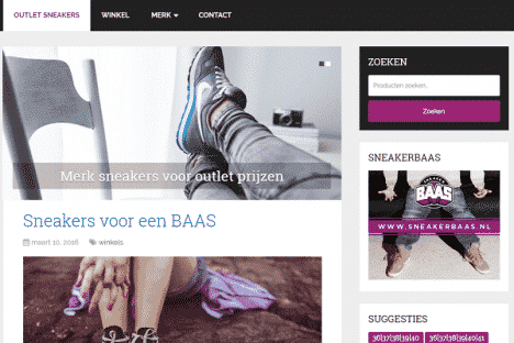 affiliate webshop