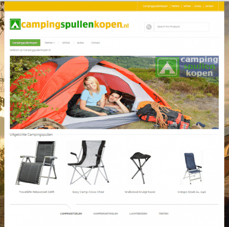 Campingspullenkopen