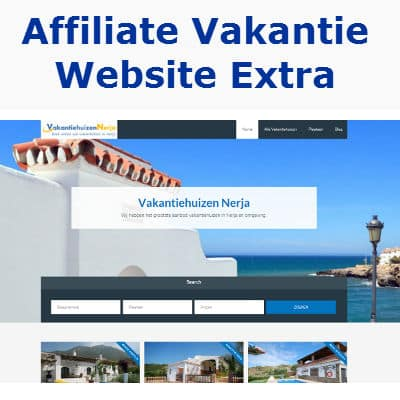 affiliate vakantie website extra
