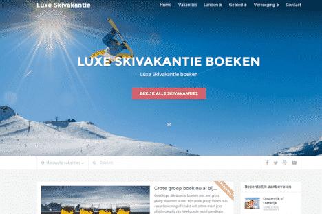 luxe skivakantie