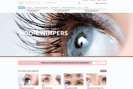 wimper serum webshop