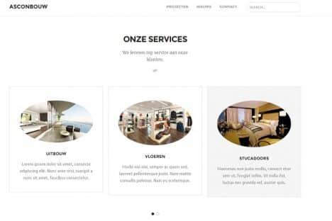 Asconbouw services