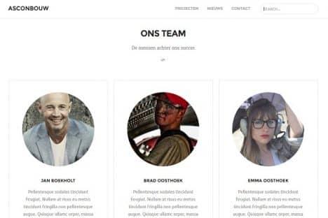 Asconbouw Team