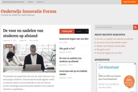 onderwijs innovatie forum