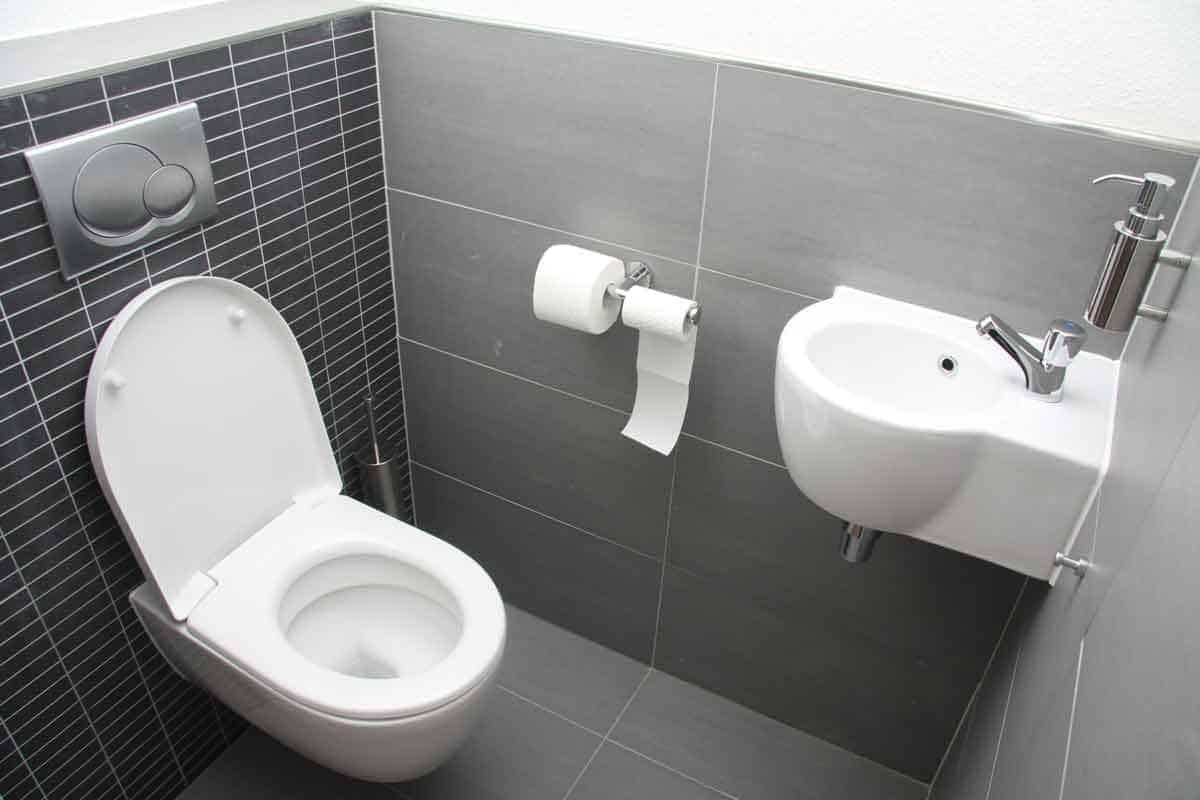 stijlvolle toiletruimte