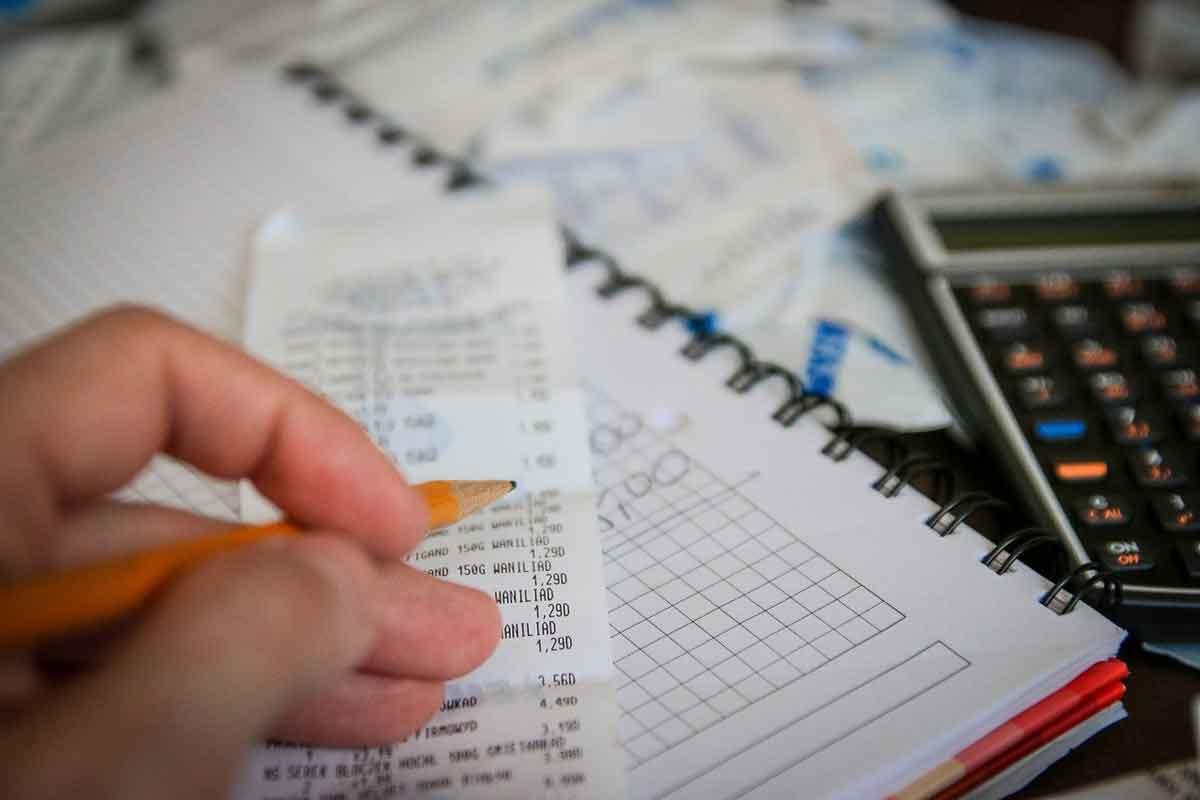 spaardoelen en boekhouding